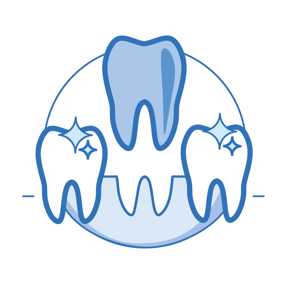 Рисованные картинки зубы